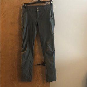 Columbia sz 2 grey light weight pants